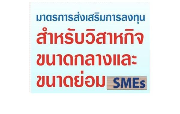 มาตรการเพิ่มขีดความสามารถของผู้ประกอบการวิสาหกิจขนาดกลางและขนาดย่อม (SMEs)